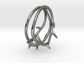 Thorn Ring No. 2 in Polished Silver: 5 / 49