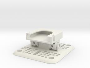 Flat Plate Multi-mount For Drift Ghost Camera in White Natural Versatile Plastic