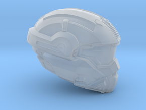 Halo 5 Noble 1/6 scale helmet in Smoothest Fine Detail Plastic