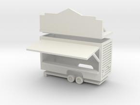 Gametrailer - 1:160 (N scale) in White Natural Versatile Plastic