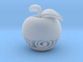 Pocket Art Apple in Smooth Fine Detail Plastic