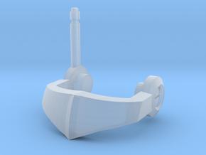 Nautical Femmebot Head (visor) in Smooth Fine Detail Plastic