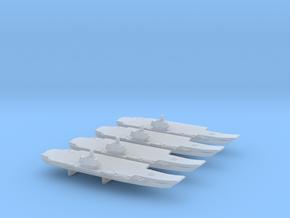 Ulyanovsk-Class CV x 4, 1/6000 in Smooth Fine Detail Plastic