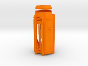 Ingress Key Locker in Orange Processed Versatile Plastic