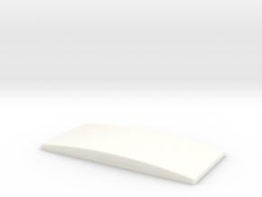 Lakland 5501 ramp in White Processed Versatile Plastic
