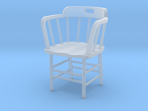 Caboose Chair 1/20th Scale in Smooth Fine Detail Plastic
