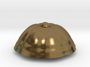 PPot 40 Top in Polished Bronze