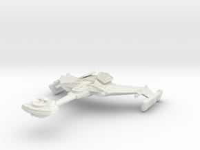 D 11 BattleShip II in White Natural Versatile Plastic
