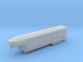 36-foot Gooseneck Livestock Trailer in Frosted Ultra Detail