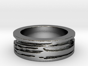 Gersemi Ring Ring Size 7 in Fine Detail Polished Silver