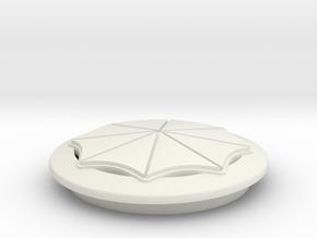 VW Umbrella Corporation in White Natural Versatile Plastic