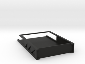 CARD DECK HOLDER in Black Natural Versatile Plastic