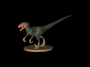 Replica Toys Dinosaurus Velociraptor  in Smooth Fine Detail Plastic