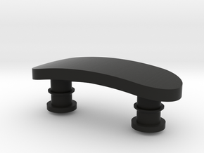 Personalised Vivosmart Clasp in Black Natural Versatile Plastic
