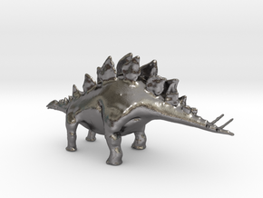 Replica Toys Dinosaurs Stegosaurus Full Color  in Polished Nickel Steel