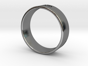 James Bond: Spectre Ring - Size 13 in Fine Detail Polished Silver
