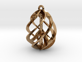 Peace Ascendant - 20mm in Polished Brass
