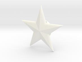 SSMM-STAR-BASICloft 1.25 in White Processed Versatile Plastic