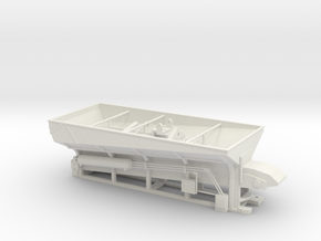1/50th Stone Slinger Dump Truck Body in White Natural Versatile Plastic