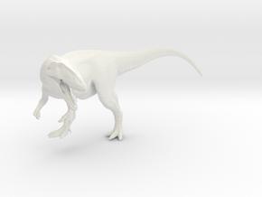 Dinosaur  Carcharodontosaurus 1:40 V1 in White Natural Versatile Plastic