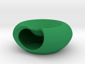 Pistacio Bowl 2.0 in Green Processed Versatile Plastic