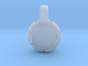 Spiral in Smooth Fine Detail Plastic