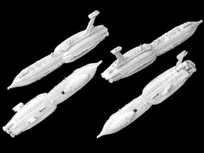 """(Armada) Providence Destroyer """"Invisible Hand"""" in White Natural Versatile Plastic"""