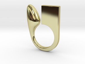 Kin - Size XS in 18k Gold Plated Brass