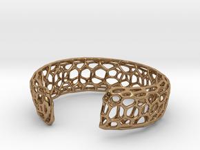 Frohr Design Bracelett Cell Cylce C in Polished Brass