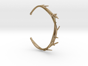 Thorn Bracelet in Polished Gold Steel