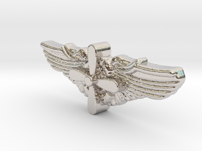 1/6 WWII Flt Eng in Rhodium Plated Brass