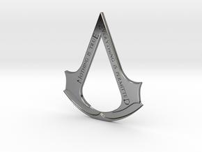 Assassin's creed logo-bottle opener  in Fine Detail Polished Silver