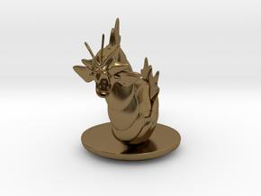 Gyarados  Pokemon in Polished Bronze