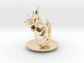Gyarados  Pokemon in 14K Yellow Gold
