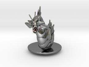 Gyarados  Pokemon in Fine Detail Polished Silver