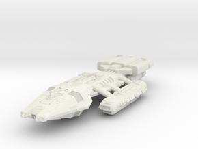 BSG HvyBattlestar in White Natural Versatile Plastic