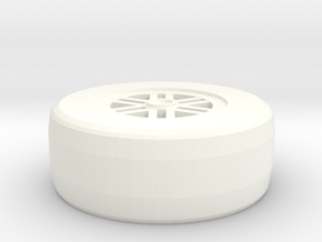 Lolafwheel in White Processed Versatile Plastic