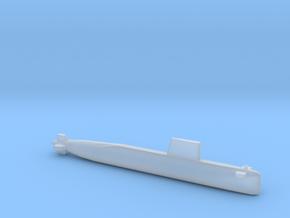 Agosta 70 SSK, Full Hull, 1/1800 in Smooth Fine Detail Plastic