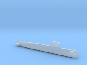 Agosta 70 SSK, Full Hull, 1/2400 in Smooth Fine Detail Plastic