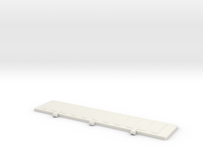 PS2CD4427 Roof Hatch 1:12 in White Natural Versatile Plastic