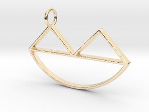 Narsferatu Pendant in 14K Yellow Gold