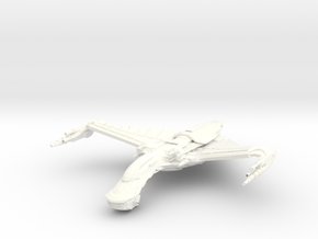 Dorval Class B GunDestroyer in White Processed Versatile Plastic