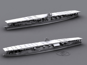 1/1800 IJN CV Akagi [1941] in White Natural Versatile Plastic