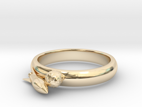 Moon Rocket Ring S 9 2015 in 14K Yellow Gold