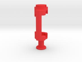 Mobius Case - C1 Lens Bracket in Red Processed Versatile Plastic