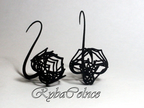 Plugs / gauges / size 10 g (2.5mm) in Black Natural Versatile Plastic