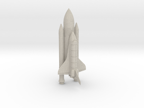 Space+Shuttle+Atlantis+3 in Natural Sandstone