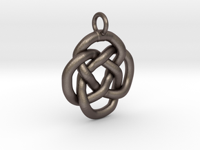 Knot keyring in Stainless Steel