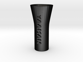 YAAMAN Pipe Bong Hybrid in Matte Black Steel