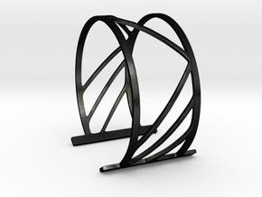 Subgeometric 2_Large in Matte Black Steel